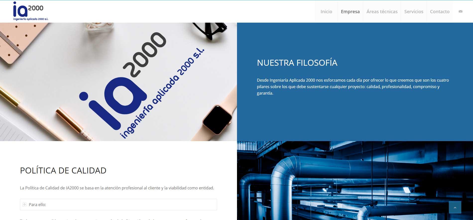 Ingeniería Aplicada 2000 - Portfolio Protocultura