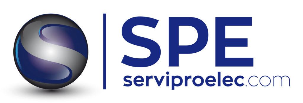 Logo tipo de Serviproelect diseñado por Protocultura.
